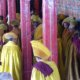 China y Tíbet únicos monjes budistas tibetanos